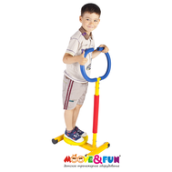 Детский твистер тренажёр с ручкой - Moove&Fun, фото 1
