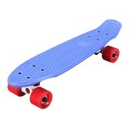 Скейтборд пластиковый PLAYSHION FS-PS001B (Синий), фото 1