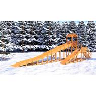 Зимняя горка IGRAGRAD SNOW FOX 12 м с двумя горками, фото 1